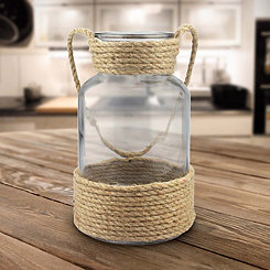 Wrapped Rope Vase, 10 in.
