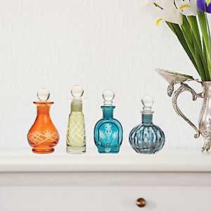 Assorted Glass Jars, Set of 4