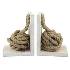 Rope Knot Bookends