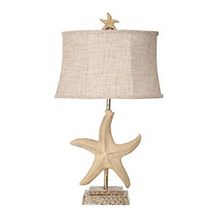 Florentine Starfish Table Lamp