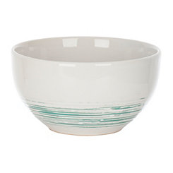 Aqua Scratch Soup Bowl
