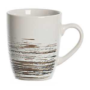 Black Scratch Mug