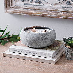 Citrus & Sage Cement Jar Candle