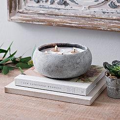 Citrus & Sage Cement Jar Candle