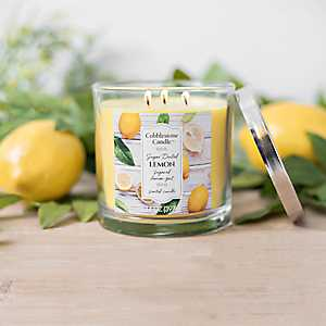 Sugar Dusted Lemon Jar Candle