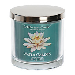 Water Garden Jar Candle