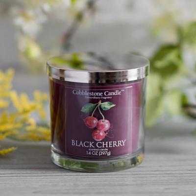 Black Cherry Jar Candle