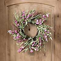 Sweet Pea Heather Wreath