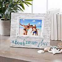 The Beach is My Happy Place Picture Frame, 5x7