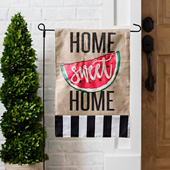 Home Sweet Home Watermelon Flag Set