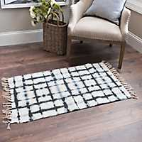 Blue Shibori Denver Rug