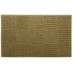 Natural Basketweave Doormat