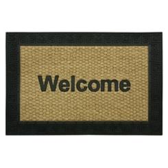 Rubber Border Welcome Doormat