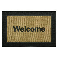 Rubber Border Welcome Doormat