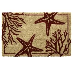 Starfish Coral Doormat