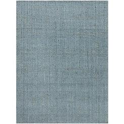 Blue Andover Jute Area Rug, 5x8