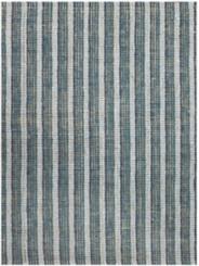 Blue Stripe Tallon Jute Rug, 8x10