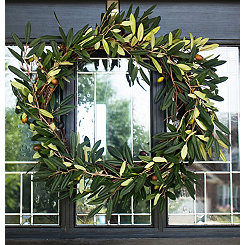 Green Olive Wreath