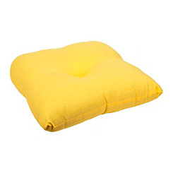 Solid Yellow Outdoor Seat Cushion