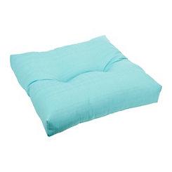 Capri Blue Ottoman Cushion