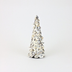 Oyster Shell Topiary, 16 in.