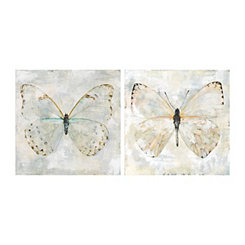 Fly Free Canvas Art Prints, Set of 2