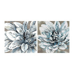 Silver Spring I and IV Canvas Art Prints, Set of 2