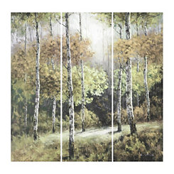Perspective Spring Canvas Art Prints, Set of 3