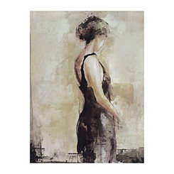 Evening Attire I Canvas Art Print
