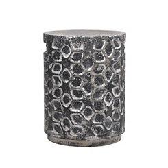 Charcoal Ceramic Garden Stool