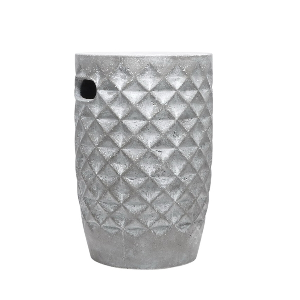 ... Silver Diamond Ceramic Garden Stool ...  sc 1 st  Kirklands & Blue and White Ceramic Garden Stool | Kirklands islam-shia.org