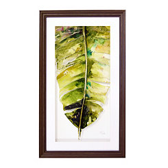 Palm Leaves II Framed Art Print