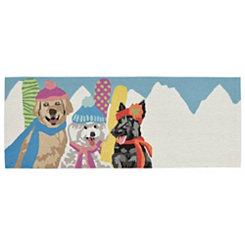 Ski Dogs Indoor/Outdoor Runner