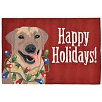 Deck the Dog Indoor/Outdoor Large Accent Rug