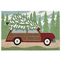 Tree to Go Indoor/Outdoor Large Accent Rug