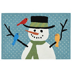 Winter Friends Indoor/Outdoor Large Accent Rug