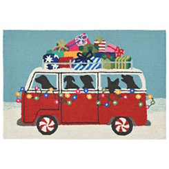 Holiday on the Go Indoor/Outdoor Large Accent Rug