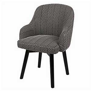 Trenton Herringbone Swivel Accent Chair
