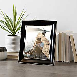 Solid Black Picture Frame, 8x10