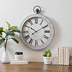 Trystan Metal Wall Clock