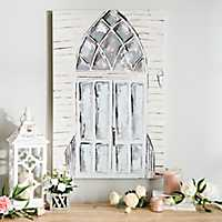 Going to the Chapel Church Door Canvas Art Print