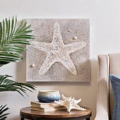 Sealife Starfish Canvas Art Print