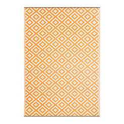 Orange Chanler Outdoor Rug, 5x8