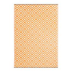 Orange Chanler Outdoor Rug, 5x8