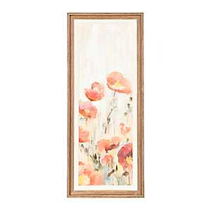 Sprinkled Flowers II Framed Art Print