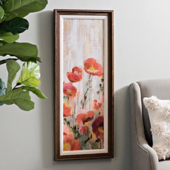 Sprinkled Flowers II Framed Art Print