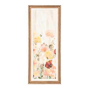 Sprinkled Flowers III Framed Art Print