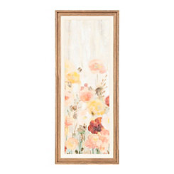 Sprinkled Flowers III Framed Art Print
