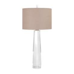 Meina Clear Crystal Table Lamp