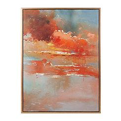 Messier Oil Painted Framed Canvas Art Print
